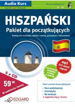 Hiszpański Pakiet dla początkujących A1 - A2