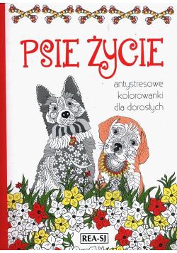 Kolorowanki dla dorosłych Psie życie