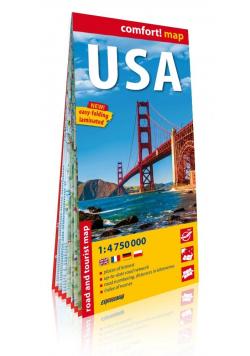 Comfort! map USA 1:4 750 000 mapa