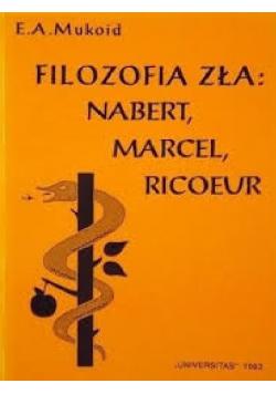 Filozofia zła Nabert Marcel Ricoeur