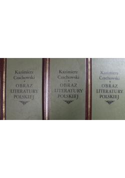 Obraz literatury polskiej 3 tomy reprinty z ok 1936 roku