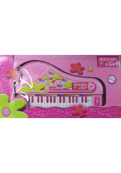 Electronic Grand Piano with microphone