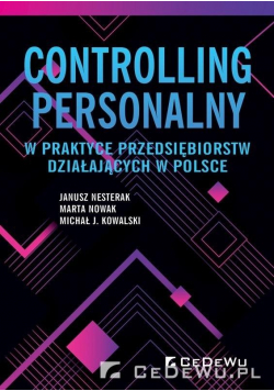 Controlling personalny w praktyce przedsiębiorstw