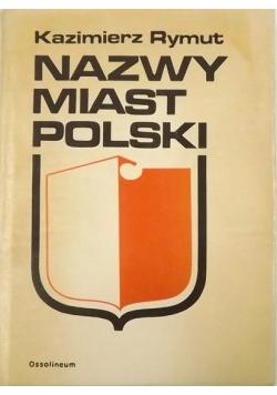 Nazwy miast polskich