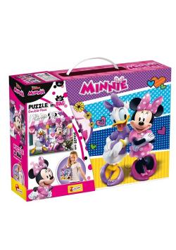 Puzzle Double-Face in bag 60 Disney Junior Minnie