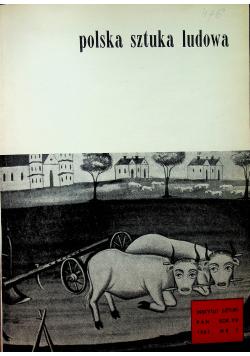 Polska Sztuka Ludowa 4 numery