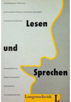 Lesen und Sprechen