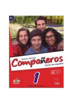 Companeros 1 podręcznik + licencia digital