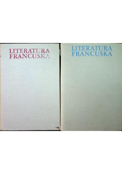 Literatura francuska 2 tomy