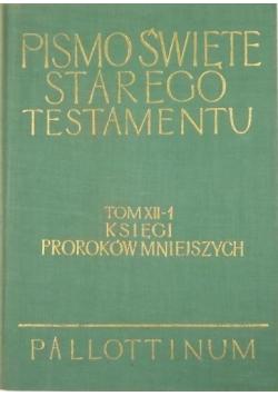 Pismo Święte Starego Testamentu tom XII Część 1