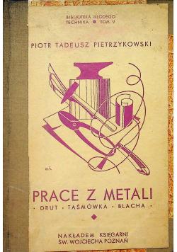 Prace z metali 1935 r