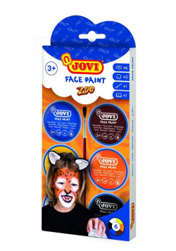 Zestaw do malowania twarzy Zoo JOVI