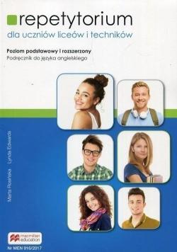 Repetytorium dla uczniów liceów i techników Podręcznik do języka angielskiego