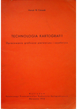 Technologia kartografii