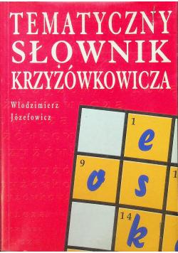 Tematyczy słownik krzyżówkowicza