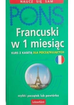 Pons Francuski w 1 miesiąc