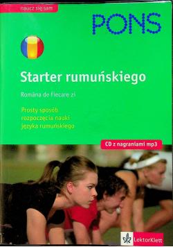 Starter rumuńskiego plus CD
