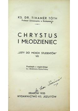 Chrystus i młodzieniec 1935 r.