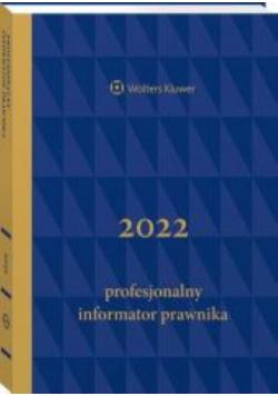 Profesjonalny Informator Prawnika 2022 B5 Granatowy