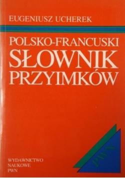 Polsko francuski słownik przyimków