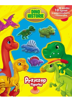 Przyczep figurkę. Dinozaury