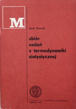 Zbiór zadań z termodynamiki statystycznej