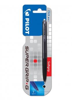 Długopis Super Grip G automat. 0.7 czarny PILOT