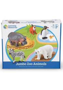 Duże Figurki. Zwierzęta w zoo. Zestaw 5 szt.