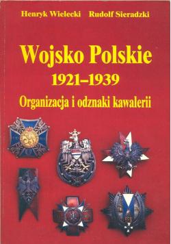 Wojsko Polskie 1921 1939 organizacja i odznaki kawalerii