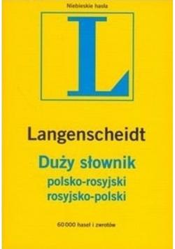Duży słownik polsko rosyjski i rosyjsko polski
