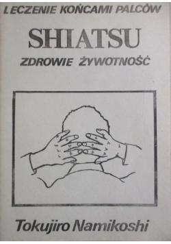 Shiatsu Zdrowie żywotność Leczenie końcami palców