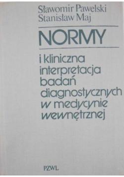 Normy i kliniczna interpretacja badań diagnostycznych w medycynie wewnętrznej