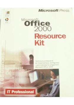 Microsoft Office 2000 Resource kit plus CD