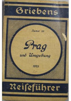 Prag und Umgebung Reisefuhrer 1925 r.