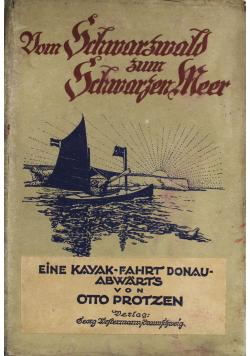 Vom Schwarzwald zum Schwarzen Meer 1923 r.