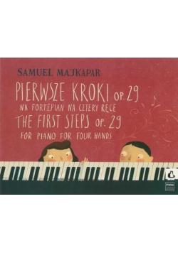 Pierwsze kroki na fortepian na 4 ręce op. 29