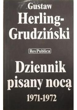 Dziennik pisany nocą 1971 - 1972
