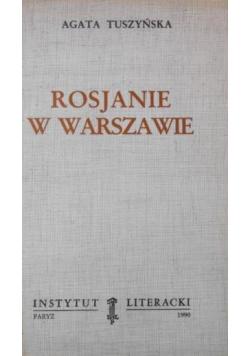 Rosjanie w Warszawie