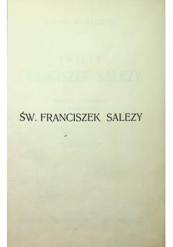 Św Franciszek Salezy 1927 r
