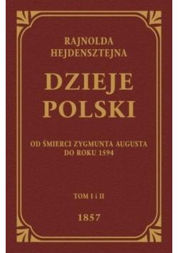 Dzieje Polski Od Śmierci Zygmunta Augusta Do 1594