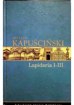 Lapidaria I do III