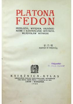 Platona Fedon 1925 r.
