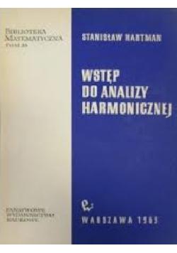 Wstęp do analizy harmonicznej