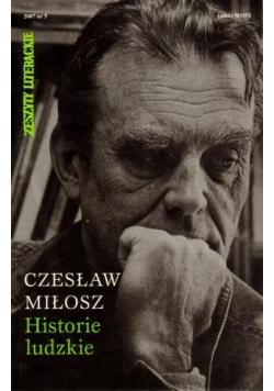 Historie Ludzkie - Czesław Miłosz