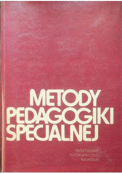 Metody pedagogiki specjalnej