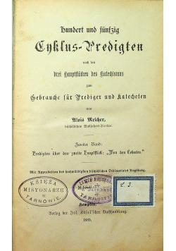 Hundert und funfzig Enklus predigten 1889 r.