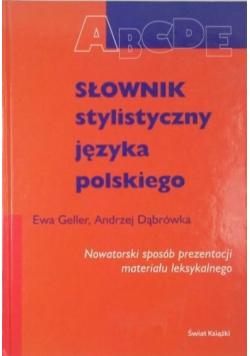 Słownik stylistyczny języka polskiego