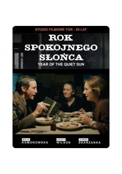 Rok spokojnego słońca - steelbook (DVD + blu-ray)