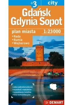 Gdańsk / Gdynia / Sopot +3 1:23 000