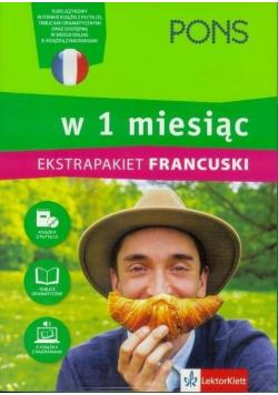 W 1 miesiąc Francuski Ekstrapakiet + płyta CD
